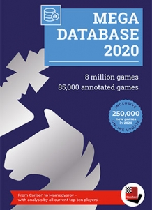 DVD Chessbase Mega Database 2020