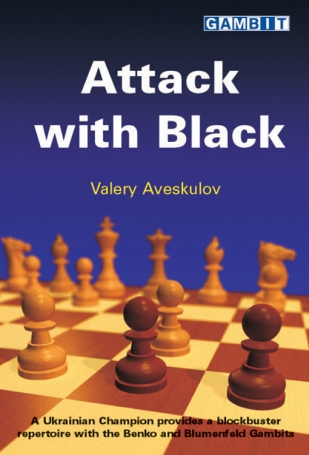 Attack with black, Valery Aveskulov