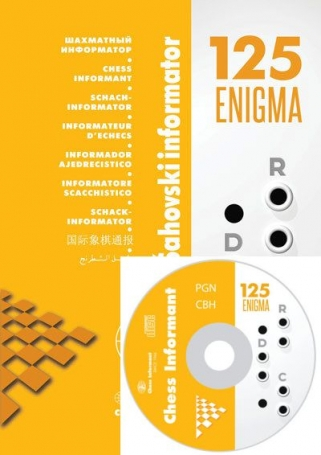Chess Informant 125 - Enigma + CD (Informator)