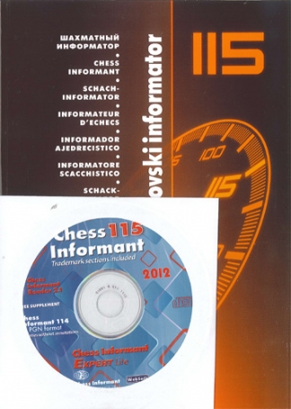 Chess Informator 115 + CD