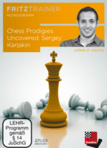 DVD Chess Progidies Uncovered Sergey Karjakin