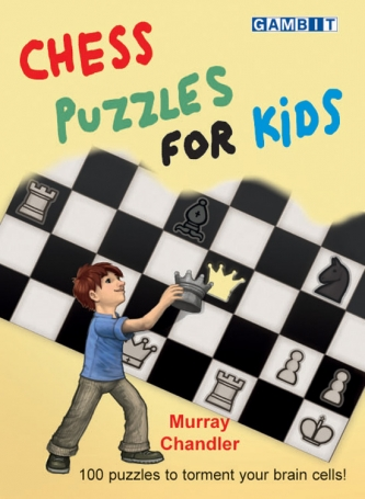 Chess puzzles for kids, Murray Chandler
