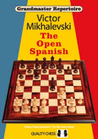 The open spanish hardcover, Victor Mikhalevski