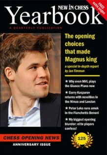 New in Chess Yearbook 125 hardcover